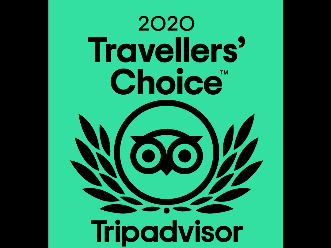 TripAdvisor Travellers Choice Award for 2020